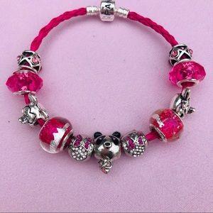 Pandora Pink Panda Bracelet